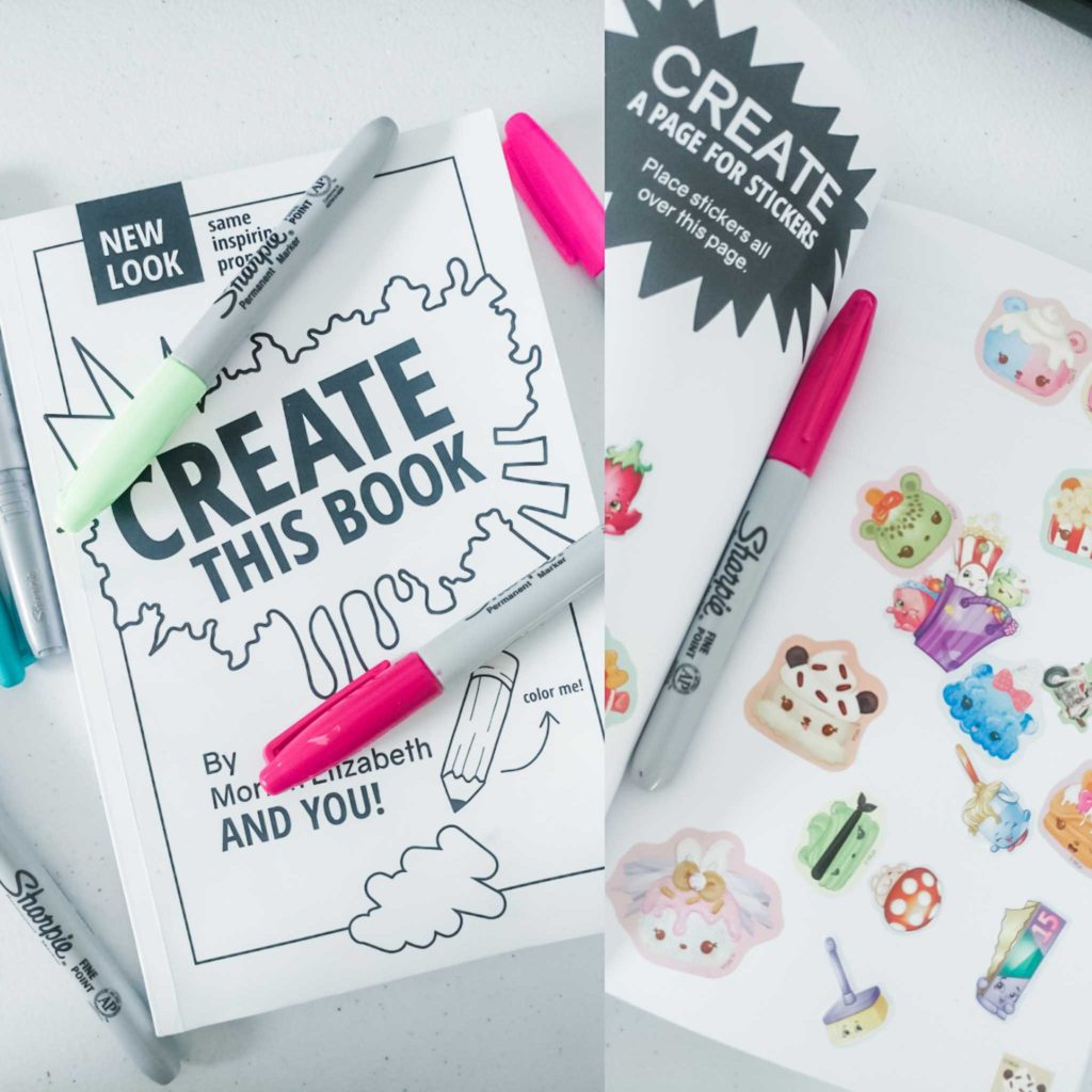 kid's budget friendly gift create this book