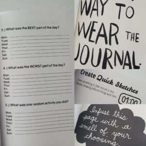 wreck this journal activity book for kids