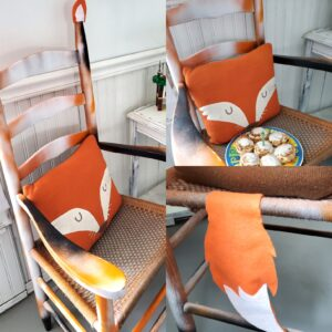make a special birthday chair for your child fox upcycled chair