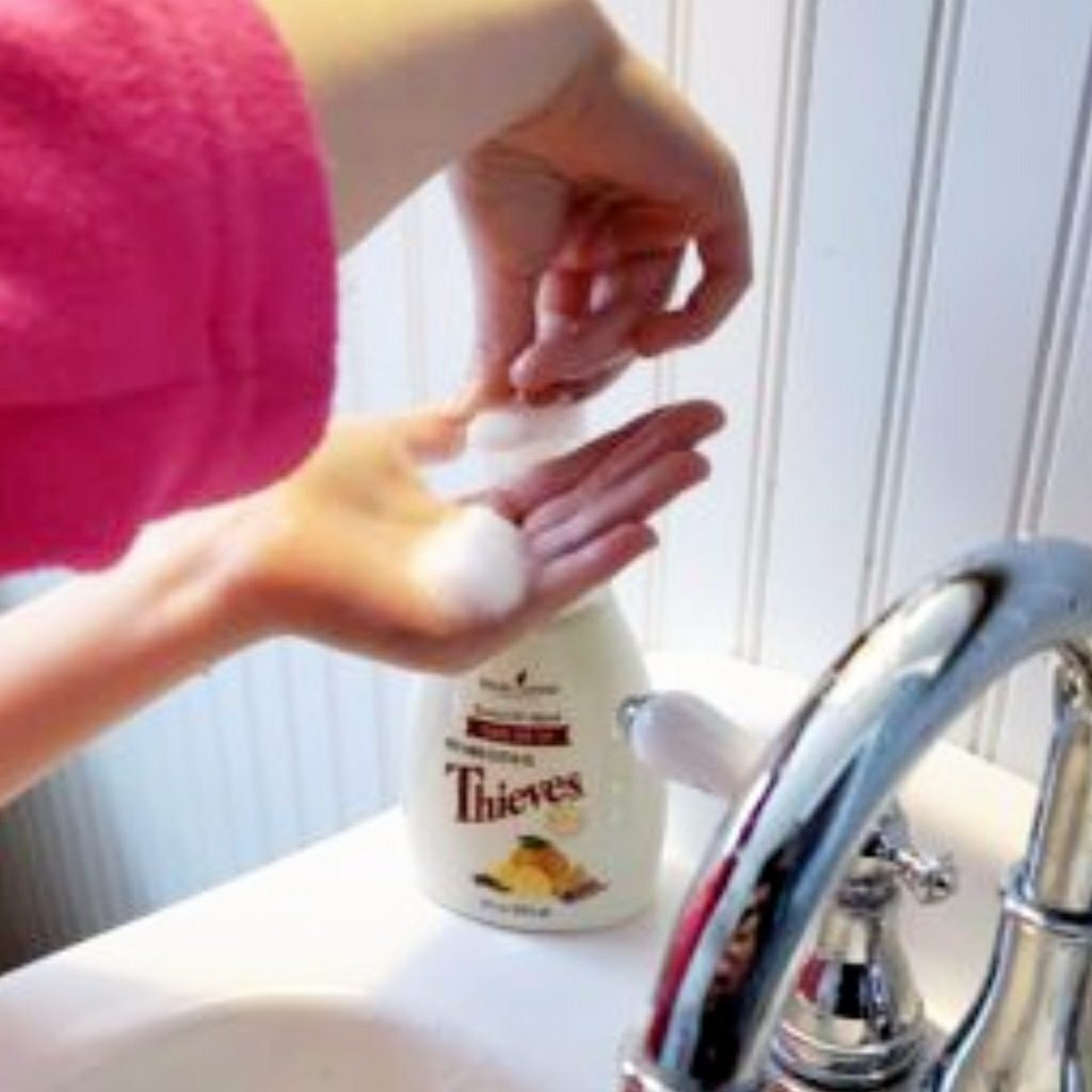 thieves oil hand soap