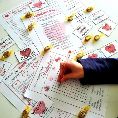 6 Fun Valentine's Day Activity Printables for KIDS