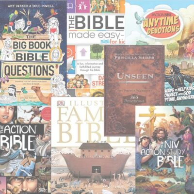 Action Bible & Devotion Books for Kids!